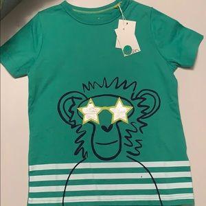 NWT Boden Monkey T-shirt Green